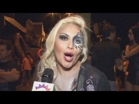 C su osado toplees, Verónica Ojeda fue la estrella del Carnaval