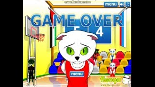 баскетбол с котами флеш игры 