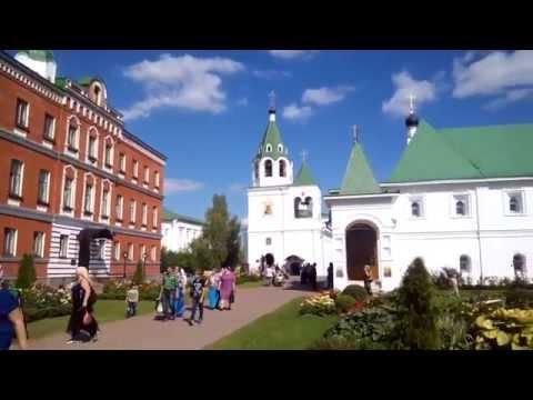 Муром. Спасо - Преображенский монастырь.