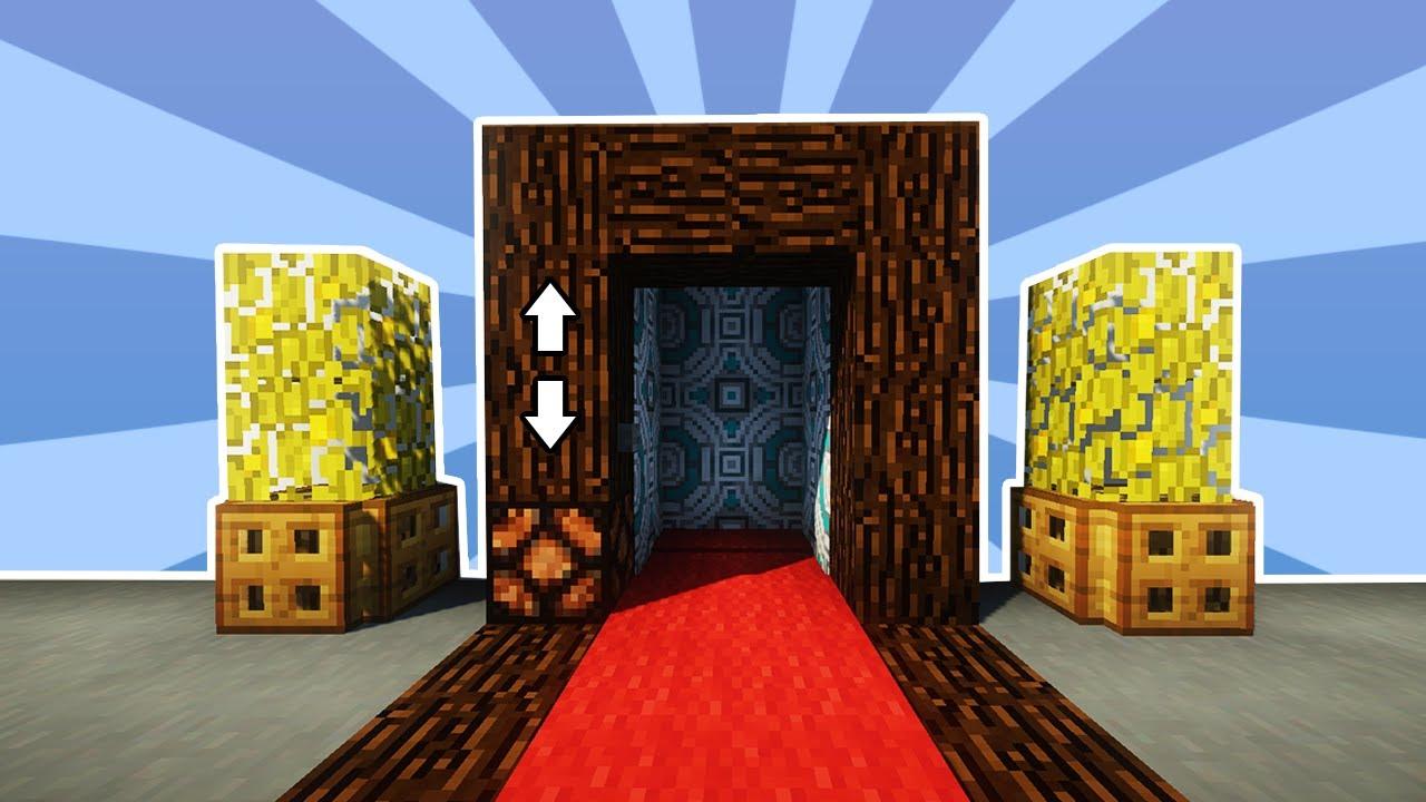 ✔️Cum sa faci un LIFT ADEVARAT in Minecraft! (Foarte Simplu)
