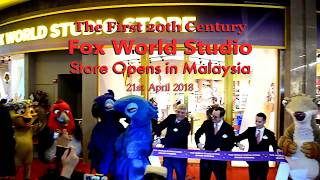 The 20th Century Fox World Store Genting Malaysia officially opened...