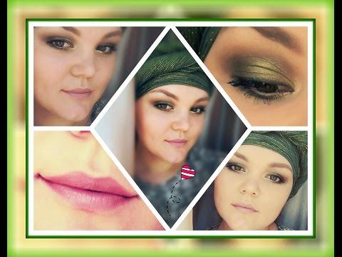 МАКИЯЖ ГЛАЗ В ЦВЕТЕ ХАКИ + ЗОЛОТО!!! ОТГОЛОСКИ ВОСТОКА/eye Makeup hacks + Gold