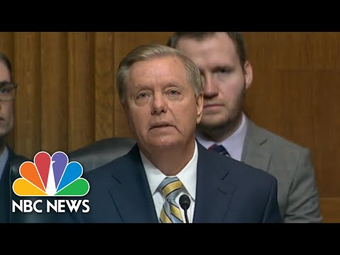 Senator Lindsey Graham, More Subdued, Urges Judiciary Committee To Move On | NBC News