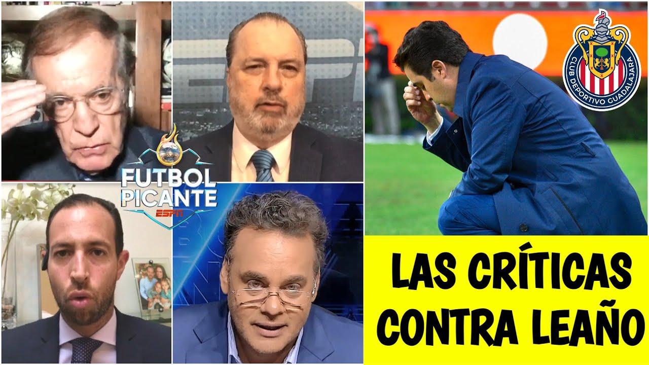LIGA MX Se le acaba el crédito a Michel Leaño en las Chivas y en Picante lo hunden | Futbol Picante