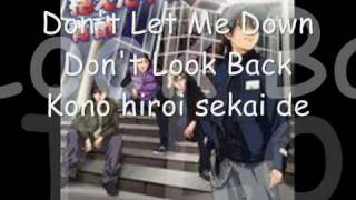 Watch Aozu Dont Look Back video