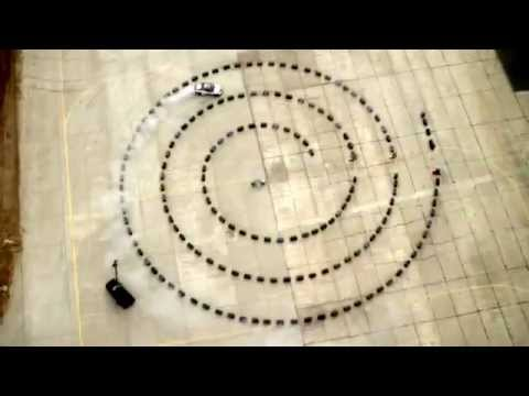 Rhys Millen Spiral Drift   Red Bull Kluge