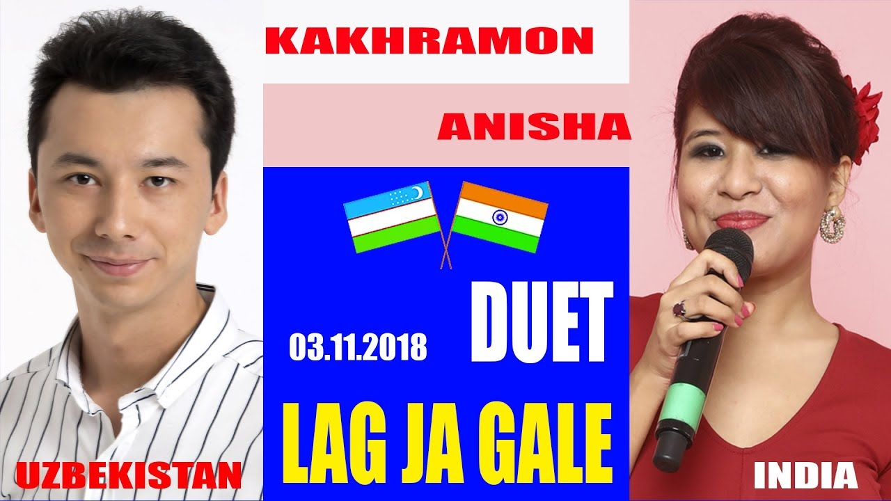 HAVAS guruhi/Kakhramon & Anisha DUET/Lag Ja Gale/LIVE-03.11.2018 Uzbekistan