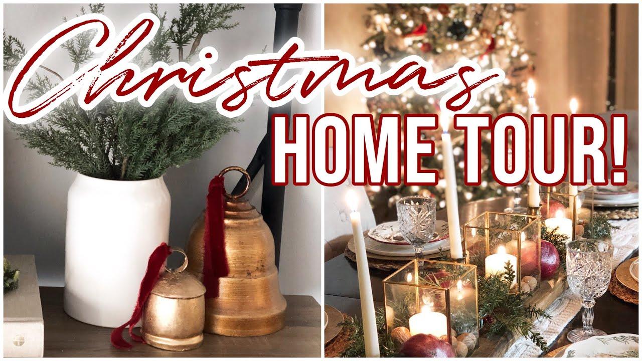 Nostalgic Christmas Home Tour | Elegant Vintage Luxe 2020