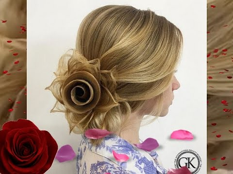Rose Petals Hairstyle By Georgiykot Youtube