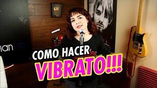 Como Hacer VIBRATO   CLASES DE CANTO   FEER PAZ