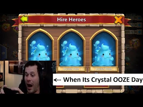 Crystal Ooze Hero Collector Amazing Session Castle Clash