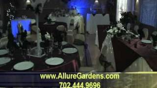 Affordable Banquet Halls in Las Vegas, NV Allure Gardens for wedding receptions and parties