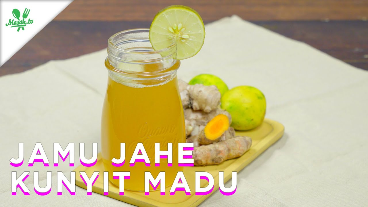 Jamu Jahe Kunyit Madu