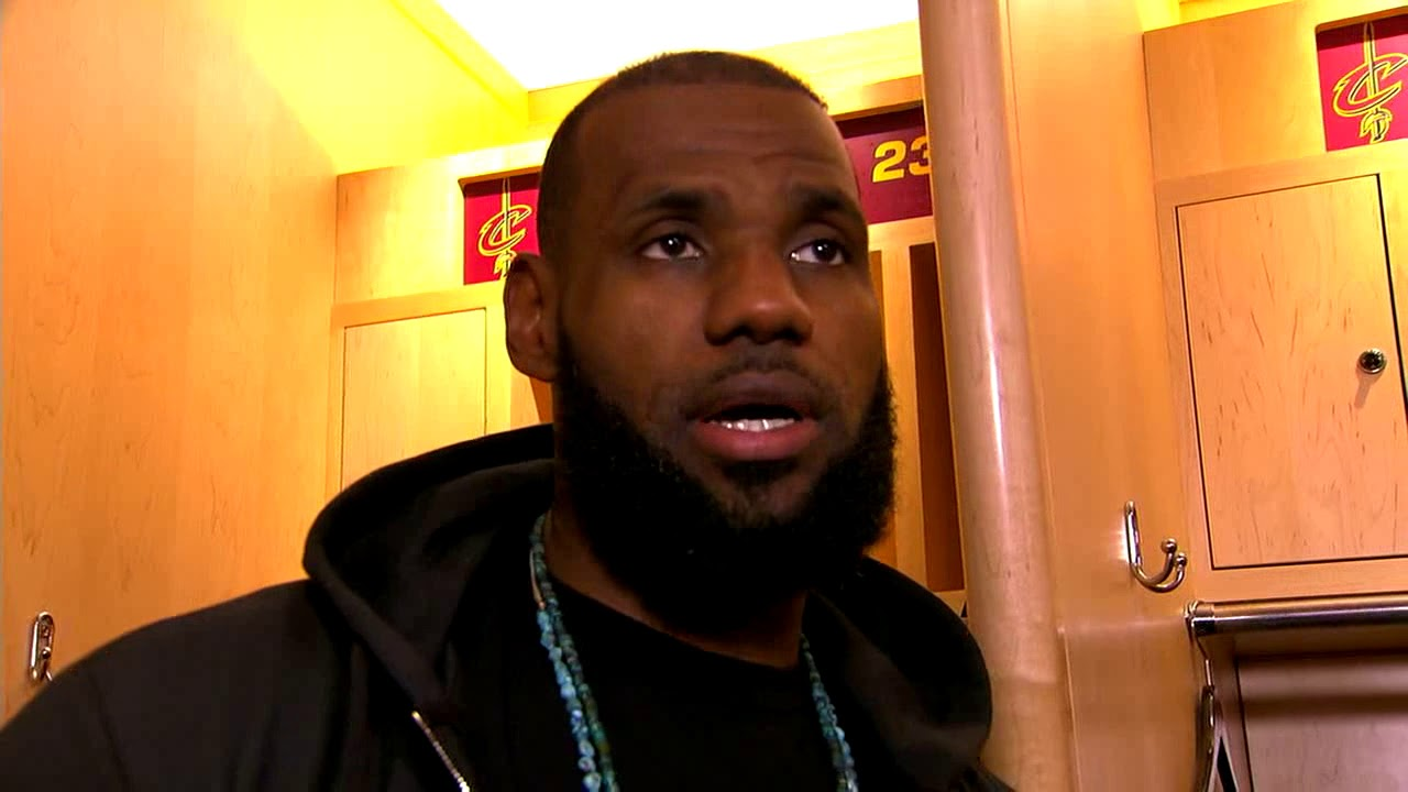 LeBron James praises Kevin Love's playing, addresses Arthur Instagram meme | ESPN