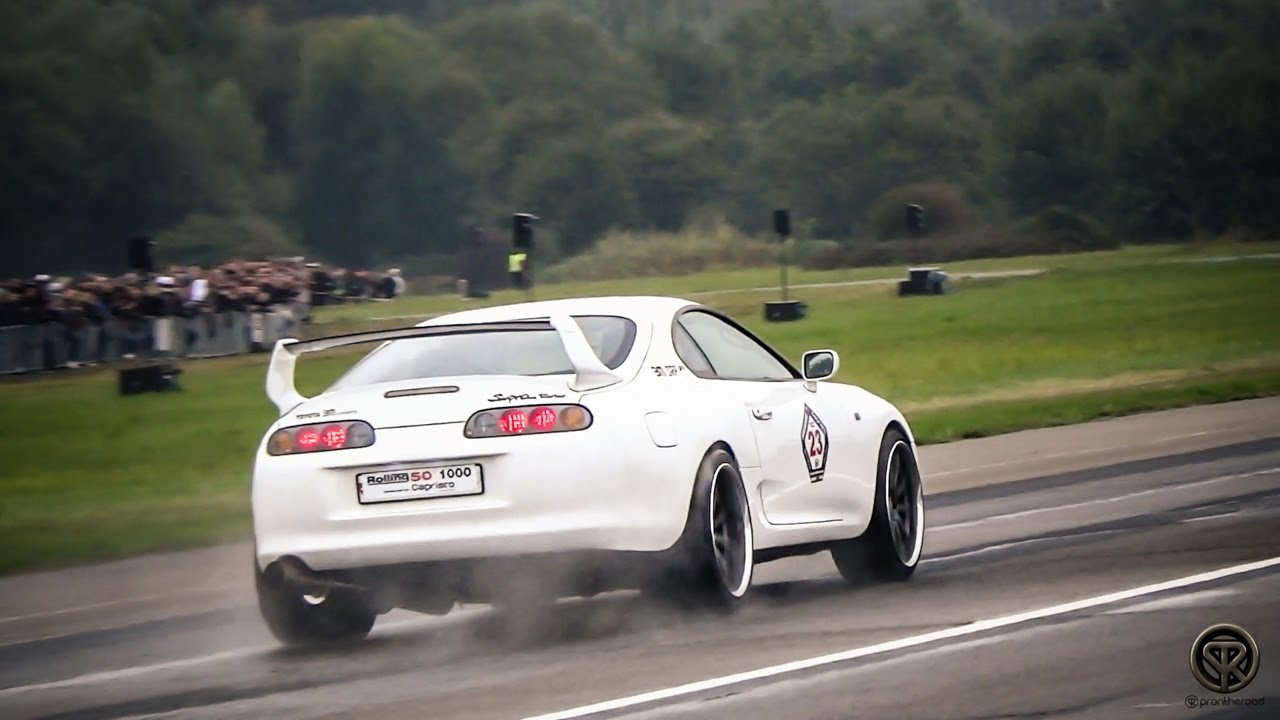 1030HP TOYOTA SUPRA TWIN TURBO - BRUTAL ACCELERATIONS ...