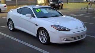 used 2007 Hyundai Tiburon GT Gainesville FL for sale at Santa Fe Ford
