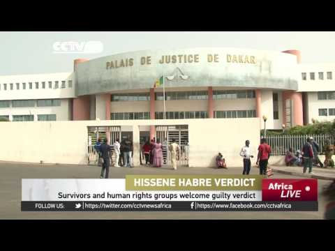 Survivors and human rights groups welcome Hissene Habre guilty verdict