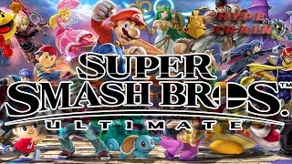 Super Smash Bros. Ultimate: NEW Characters, Adventure. and Mechanics=Happy!!! | Hype Train