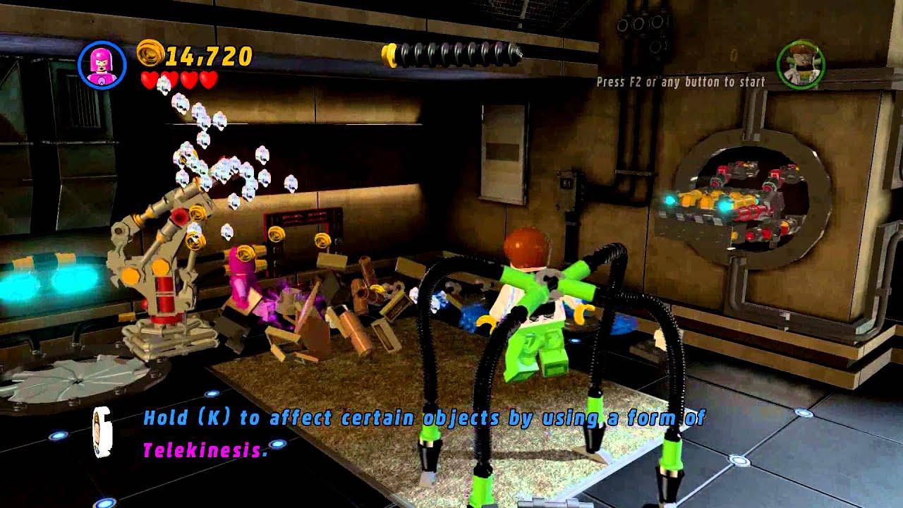marvel lego telekinesis characters
