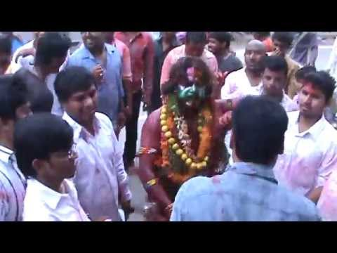Famous Telangana Bonalu In Old City (Charminar) Hyderabad  - Pothurajula Virangam Dance In Hyderabad