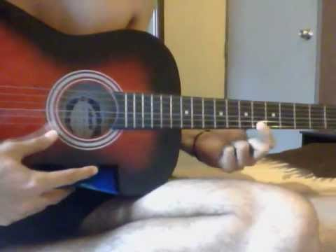 Titanic song using guitar(one string)