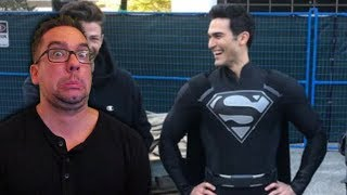 CW Superman will Wear the Black Superman Suit