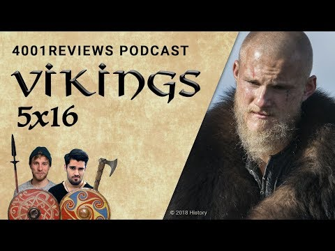 Podcast: Vikings 5x16 &39;Der Buddha&39; Analyse Theorien Fakten  4001Reviews Podcast 44