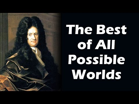 The Best of All Possible Worlds (Drive Home History #18) - Gottfried Leibniz / Theodicy