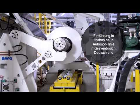 Werfen Sie einen Blick ins Innere unserer neuen Automobillinie in Grevenbroich