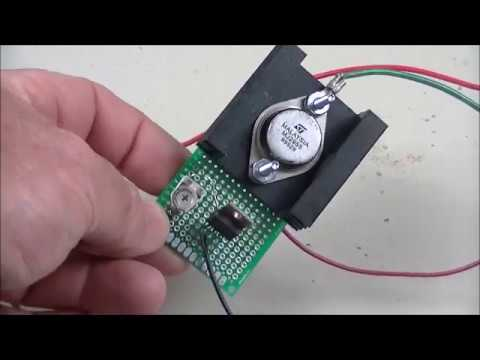 Adjustable LM317 High Powered Current Source