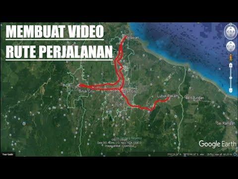 Cara Membuat Video Rute Perjalanan Dengan M Powerpoint Youtube