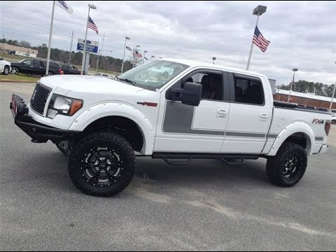 2012 ford f 150 supercab fx4 downeast off road lifted truck youtube. Black Bedroom Furniture Sets. Home Design Ideas