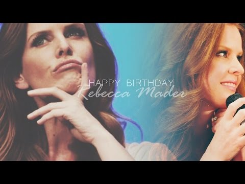 Rebecca Mader  She's so lovely HAPPY BIRTHDAY