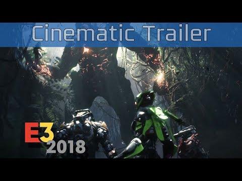 Anthem - E3 2018 Cinematic Trailer [HD 1080P]