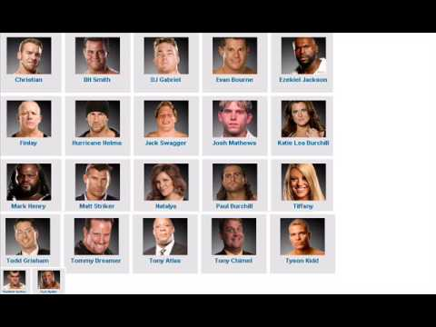 ECW roster after the 2009 WWE Draft  ECW 21/4/09