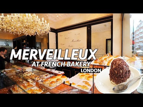 The MERVEILLEUX Cake In London - French Bakery London