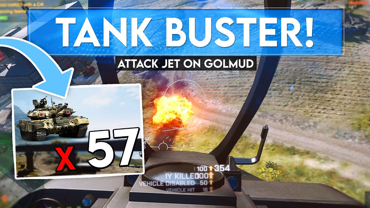 I Destroyed 57 Vehicles... The enemy DID NOT like it! - Battlefield 4