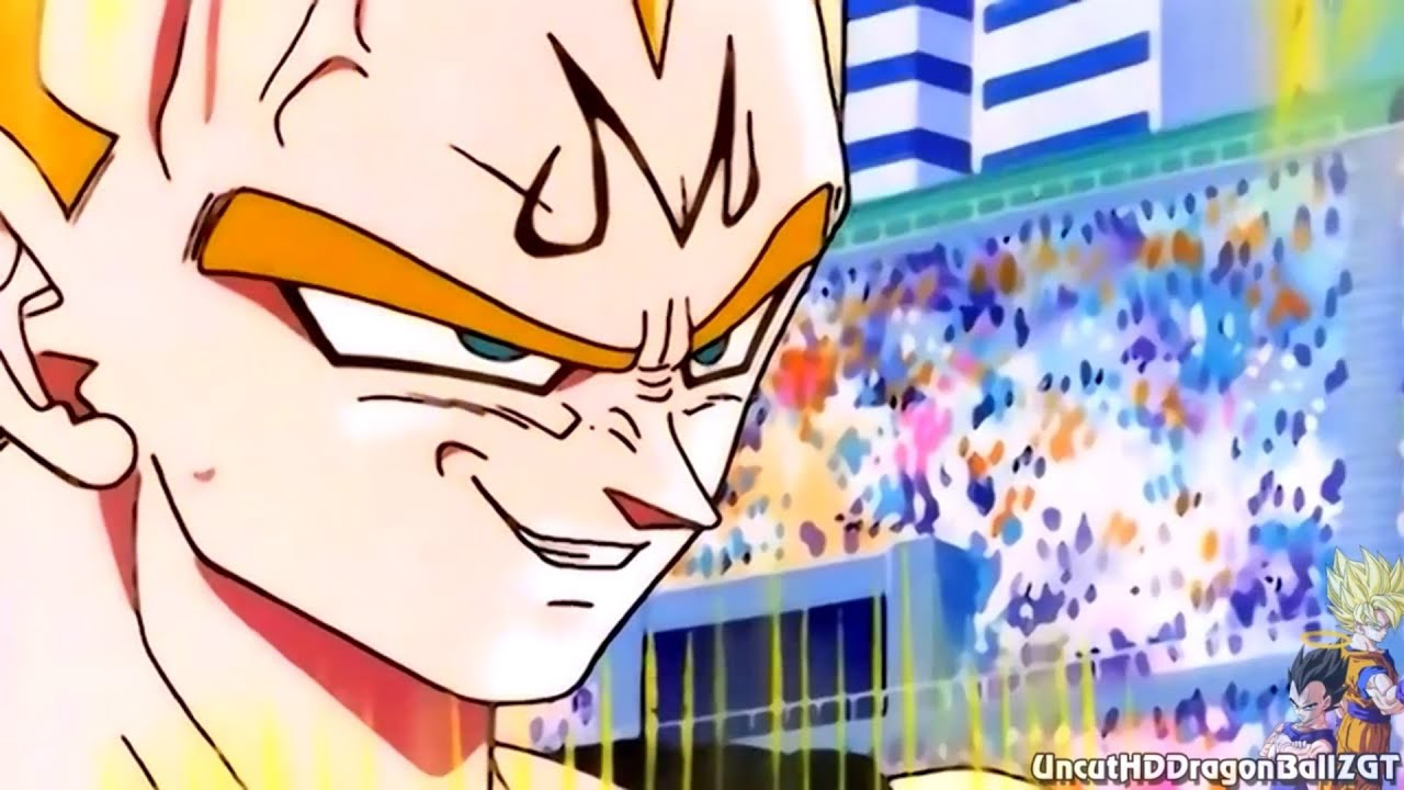 Majin Vegeta Attacks The World Tournament 1080p Hð Youtube