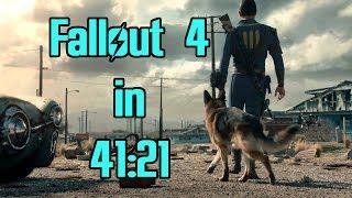 Fallout 4 Speedrun in 41:21 (World Record)
