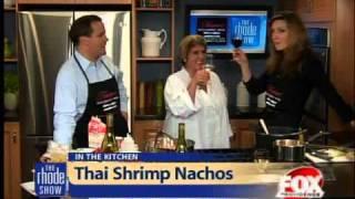 Thai Shrimp Nachos