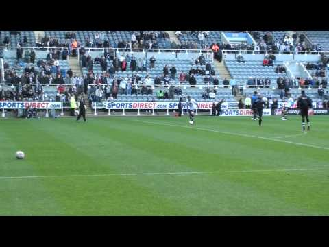 Hatem Ben Arfa Shooting Practice Video Footage @ St James Park, Newcastle united