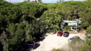 Selema Camping dal Drone