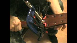 Repairing a Broken Guitar Neck: Colin