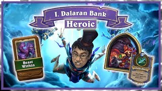 Download THE DALARAN HEIST Chapter 1 HEROIC - Steady Shot Actually OP   Rise of Shadows   Hearthstone Mp3 and Videos