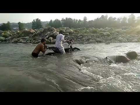 Royal enfield himalayan :river adventure