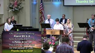 August 2, 2020 Service at First Baptist Thomson [Trimmed], Streaming License 201531172