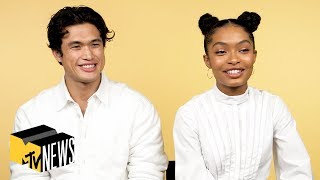 Yara Shahidi & Charles Melton on 'The Sun Is Also a Star' | MTV News