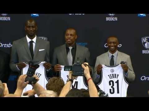 Garnett, Pierce and Terry Say Hello to Brooklyn
