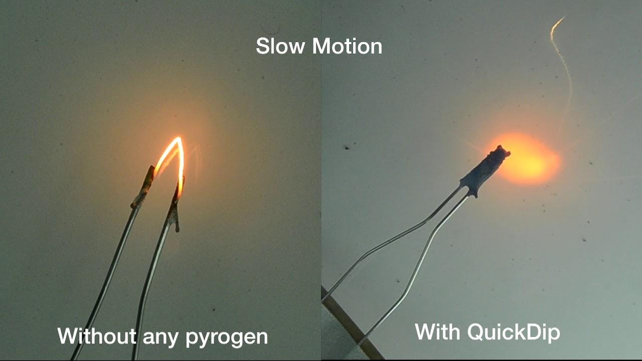 Model Rocket Igniter Test - YouTube
