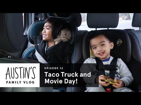 Taco Truck & Movie Night! | Austin Vlog